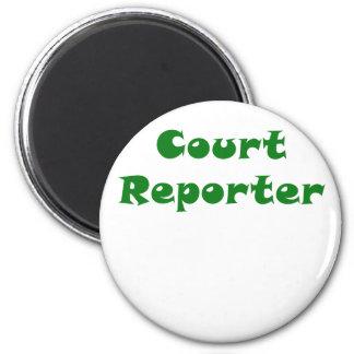 Court Reporter Magnet
