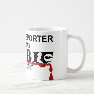 Court Reporter Zombie Coffee Mug