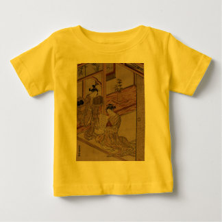 Courtesan and Kamuro in a parlour. Infant T-Shirt