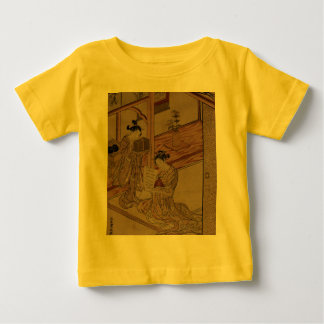 Courtesan and Kamuro in a parlour. Tee Shirts