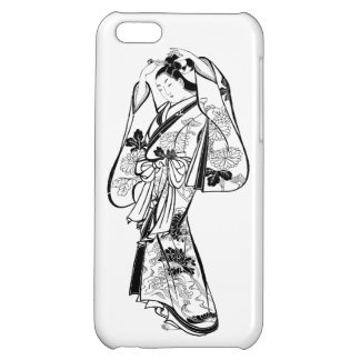 Courtesan Placing a Hairpin in Her Hair Case For iPhone 5C
