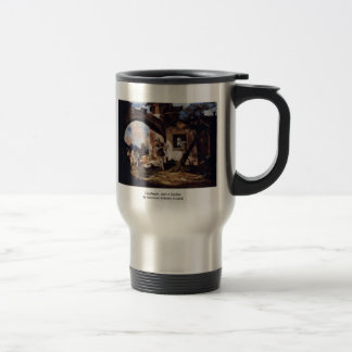 CourtesanAnd A SoldierBy Giovanni Antonio Guardi Coffee Mugs