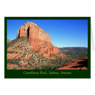 Courthouse Rock & Sedona Valley Card