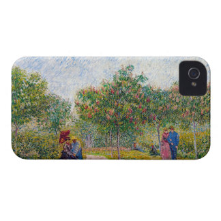 Courting Couples in the Voyer d'Argenson Park Gogh Case-Mate iPhone 4 Case