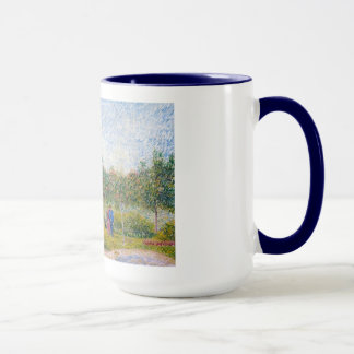 Courting Couples in the Voyer d'Argenson Park Gogh Mug