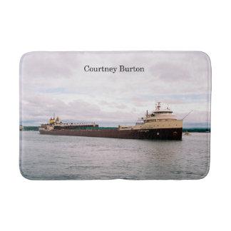 Courtney Burton bath mat