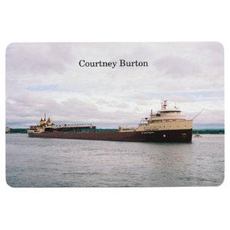 Courtney Burton floor mat
