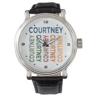 Courtney Cute Colorful Wrist Watches