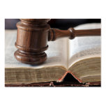 Courtroom Decisions Business Cards
