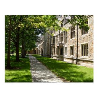 Courtyard Architecture Postcard