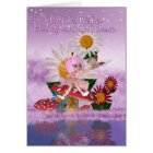 Cousin Birthday Card With Sugar Plum Fairy