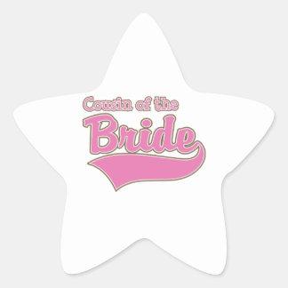 Cousin of the Bride Sticker