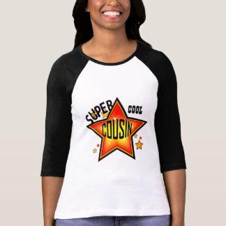 Cousin Super Cool Star Ladies Raglan Tee Shirts