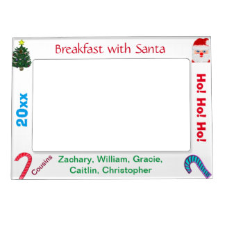 Cousins Breakfast with Santa NAME Picture Frames