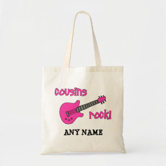 Cousins Rock! with Pink Guitar Bag