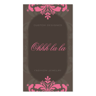 COUTURE BUSINESS CARD :: couture flourish 1BP