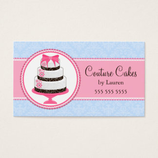 Couture Cake Bakery Business Cards