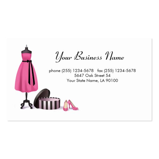Couture Fashion Business Card