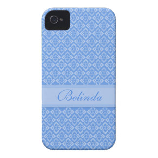 Couture name blue iphone case