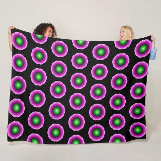 Couverture Mandala Flower 1 Fleece Blanket