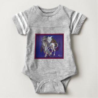Coven Symbol Spiral Essence Unicorn Griffon Celtic Baby Bodysuit
