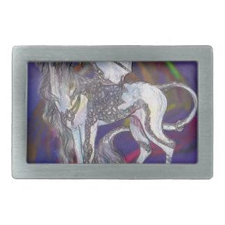 Coven Symbol Spiral Essence Unicorn Griffon Celtic Belt Buckle