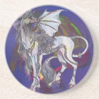 Coven Symbol Spiral Essence Unicorn Griffon Celtic Coaster