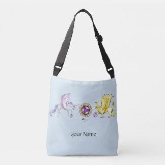 Coven Symbol Spiral Essence Unicorn Griffon Celtic Crossbody Bag