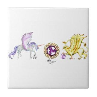 coven symbol spiral essence unicorn griffon tile