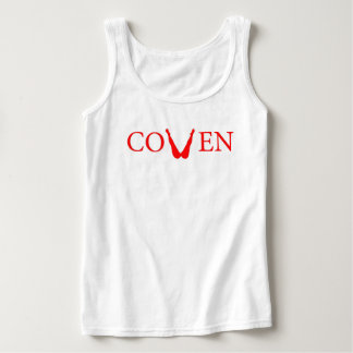 Coven tank in red