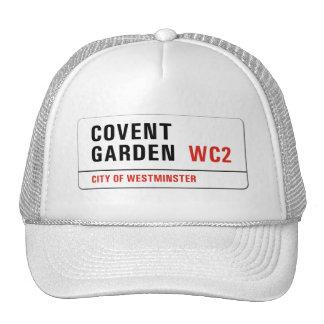Covent Garden, London Street Sign Trucker Hat