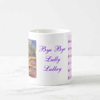 Coventry Carol Music Notes Mug