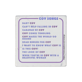 Coventry CovSongs fridge magnet A