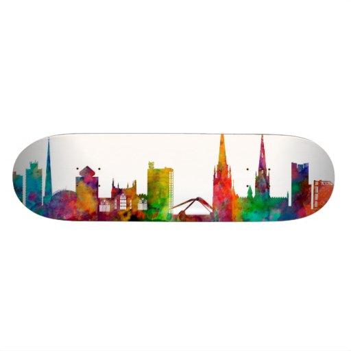 Coventry England Skyline Skate Board