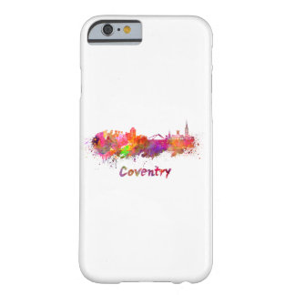Coventry skyline in watercolor barely there iPhone 6 case