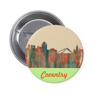 COVENTRY UK SKYLINE - Button or Badge