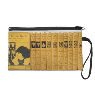 Cover and spine designs for 'The Yellow Book', Vol Wristlet Purses