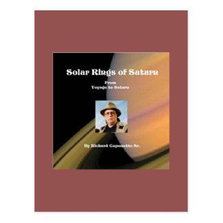 Cover art for Solar Rings of Saturn Postcard
