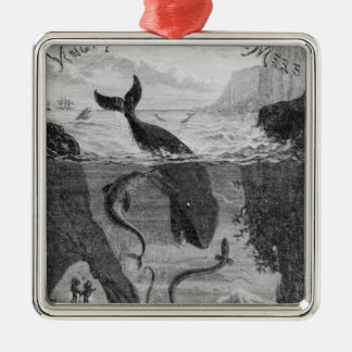 Cover Illustration 20 000 Leagues Under the Sea Christmas Ornament