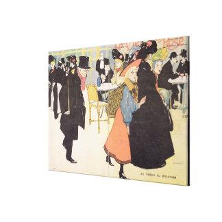 Cover illustration for 'La Vie en Rose', 1903 (col Canvas Prints