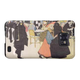 Cover illustration for 'La Vie en Rose', 1903 (col Samsung Galaxy SII Cover