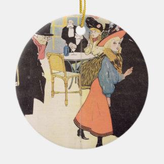 Cover illustration for 'La Vie en Rose', 1903 (col Christmas Ornaments