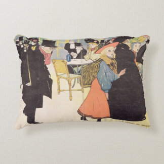 Cover illustration for 'La Vie en Rose', 1903 (col Decorative Cushion