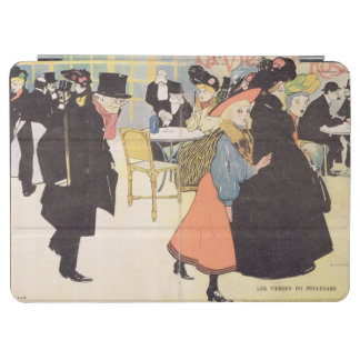 Cover illustration for 'La Vie en Rose', 1903 (col iPad Air Cover