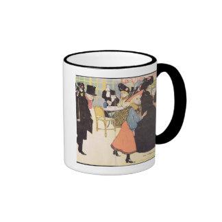 Cover illustration for 'La Vie en Rose', 1903 (col Ringer Coffee Mug