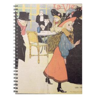 Cover illustration for La Vie en Rose 1903 col Journals