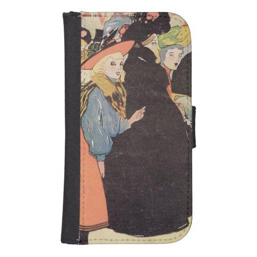 Cover illustration for 'La Vie en Rose', 1903 (col Phone Wallet Cases