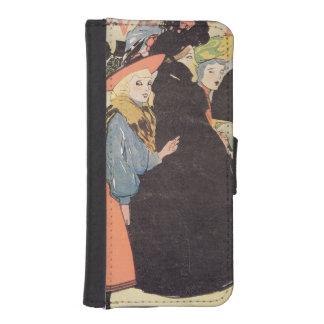 Cover illustration for La Vie en Rose 1903 col Phone Wallet Cases