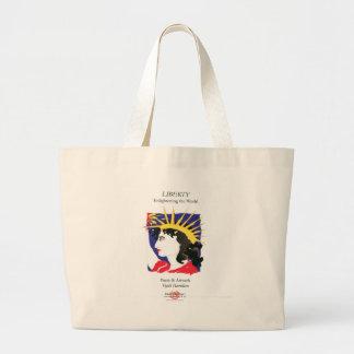 Cover-Lady Liberty/Bag Jumbo Tote Bag