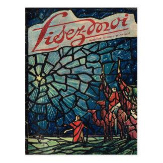 Cover, Lisez-Moi, Christmas Magi Postcard